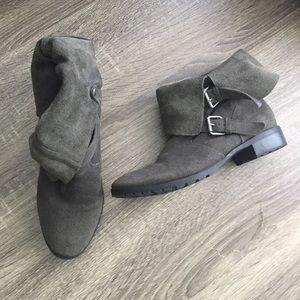 Dolce Vita Suede Moto Boots